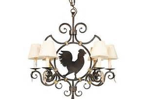 rooster chandelier the world s catalog of ideas