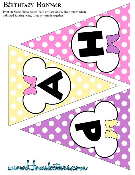 minnie mouse printable birthday decorations pink minnie mouse birthday party printable kit