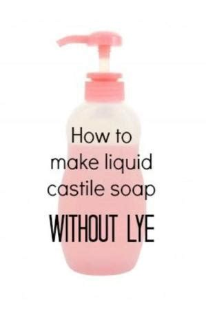 How To Make Handmade Soap Without Lye - how to make liquid xanax doterra