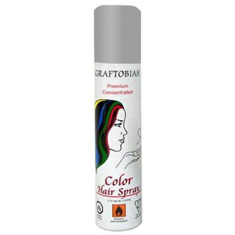 graftobian color hair spray gray facepaint facepaint