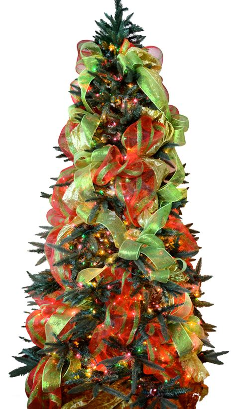 decorating with mesh ribbon for christmas ideas by mardi gras outlet tree decorating with deco mesh a tutorial