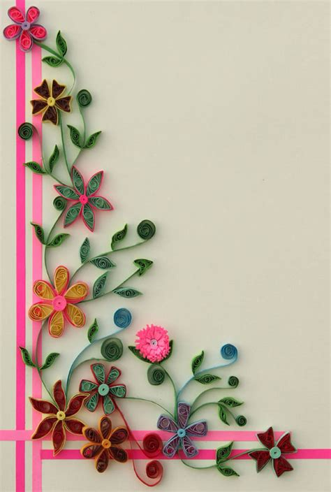 How To Make A Handmade File - best quilling designs
