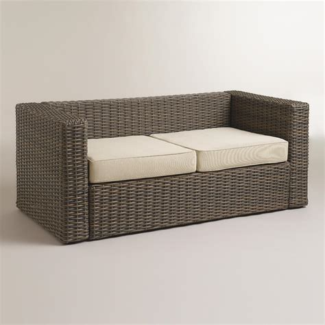 wicker bench cushion rattan bench with cushions modern house design indoor