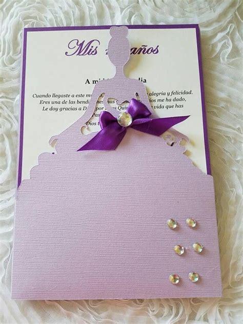 Beautiful Quinceañera Invitation sweetsixteen/Quinceañera