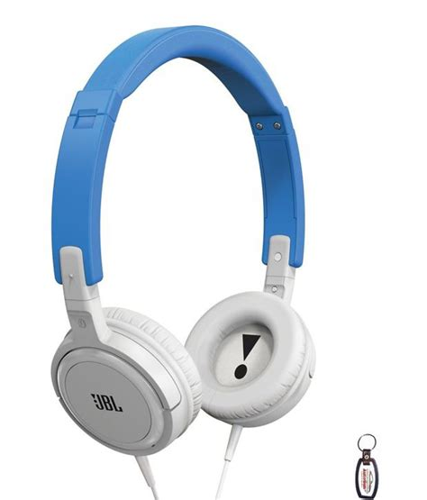 Earphone Jbl T300a buy jbl t300a ear headphones with mic blue and white