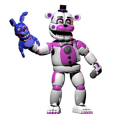 fun time freddy rynfox s funtime freddy render by lillytherenderer on