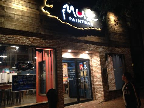 muse paint bar garden city groupon muse paintbar a great time
