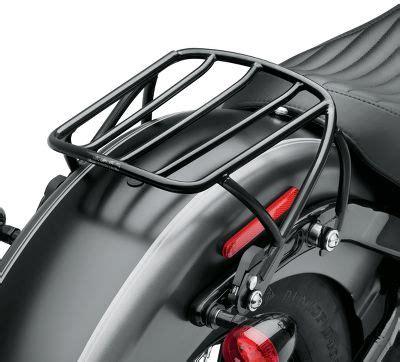 Harley Rack by H D Detachables Rack Gloss Black Luggage Racks