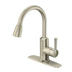 rona kitchen faucets glacier bay 925 series bar faucet in brushed nickel