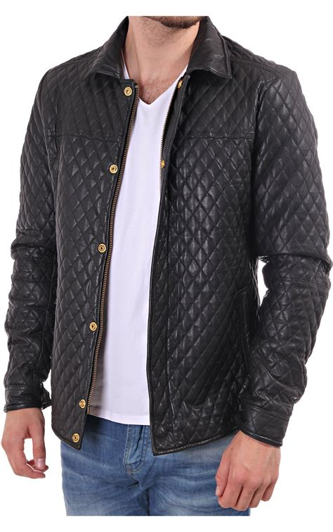 scotch and soda quilted leather jacket blueberries blackpool
