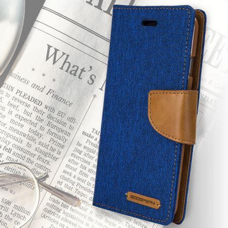 Canvas Diary Mercury Ori Iphone 6 Plus Bluecamel mercury canvas diary iphone 6s plus 6 plus wallet blue camel