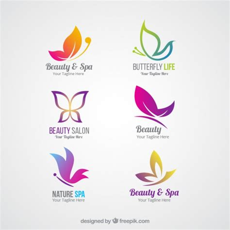 beauty layout vector beauty logos vector free download