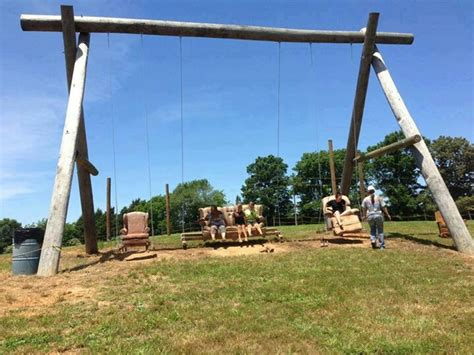 Maybe Just A Super Huge Swing Set Outdoor Play