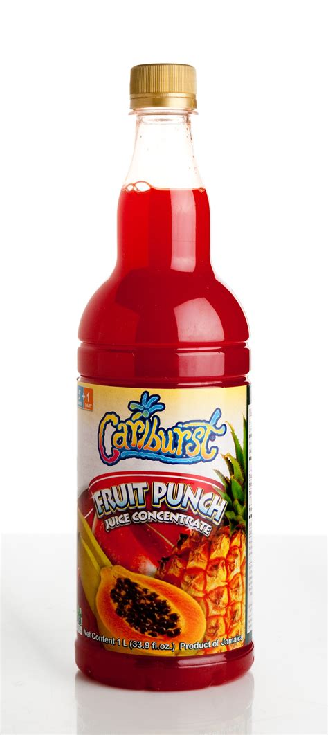 fruit juice concentrate cariburst fruit punch juice concentrate