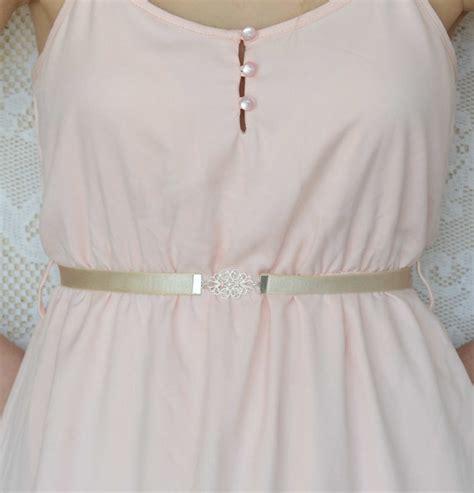 bridal belt silver belt pearl belt dress belt