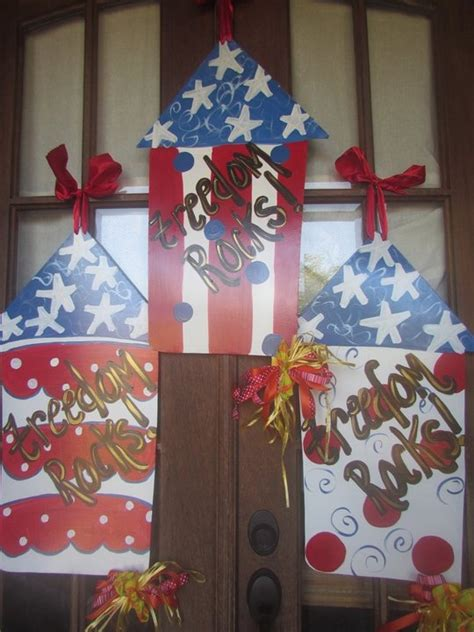 4th Of July Door Decorations by 4th Of July Door Decor It 4th