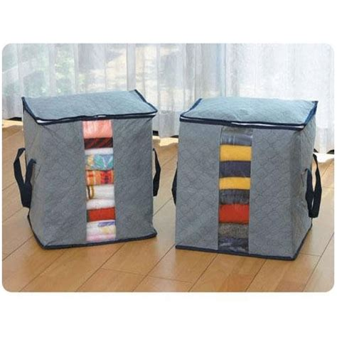 Best Quality Hpr001 Fiber Bra Box Organizer 3 In 1 Tanpa Tutu Bra Cd bamboo folding clothes charcoal sweater blanket closet