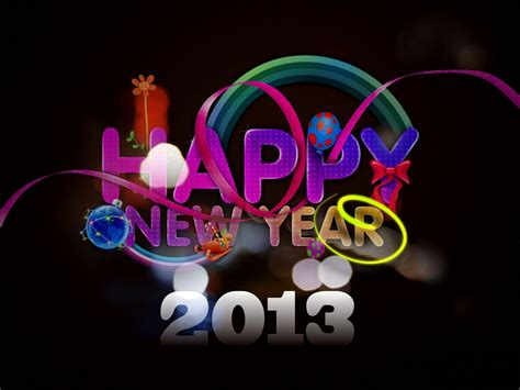 new year in 2013 merry and happy new year 2013 wallpapers hd