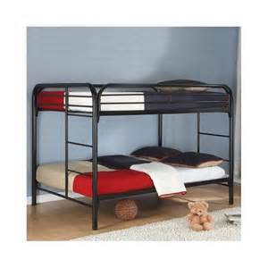 Black Metal Bunk Bed Features