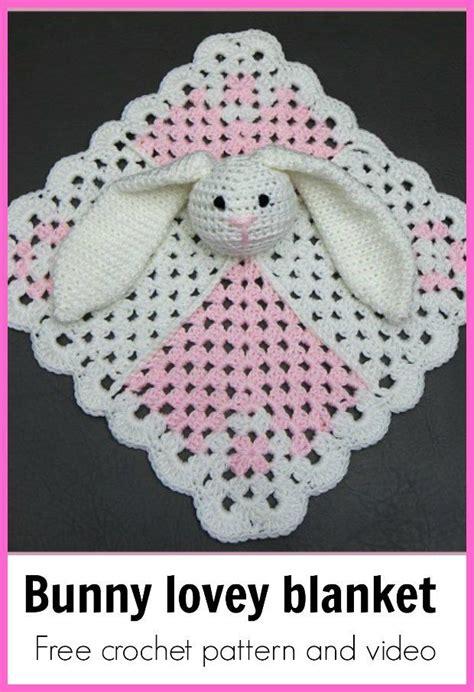 bunny lovey crochet pattern free 1121 best crochet i like lovey blankies images on