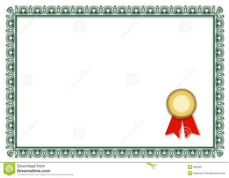 imagenes en blanco jpg certificado en blanco ilustraci 243 n del vector ilustraci 243 n
