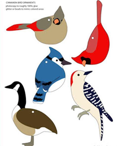 printable bird ornaments the gallery for gt bird template martha stewart