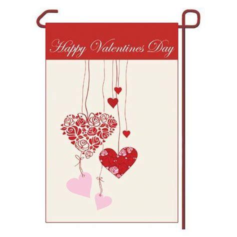 valentines day arbor valentines day garden flag vinyl 12 5 quot x 18 quot by outdoor