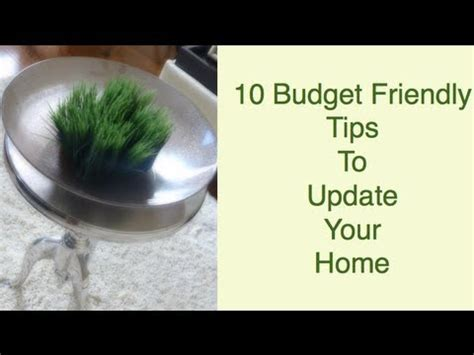 10 tips diy ideas to refresh your home for spring diy 10 budget friendly tips to update your home youtube
