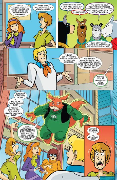 Scooby Doo 18 exclusive preview scooby doo team up 18 comics