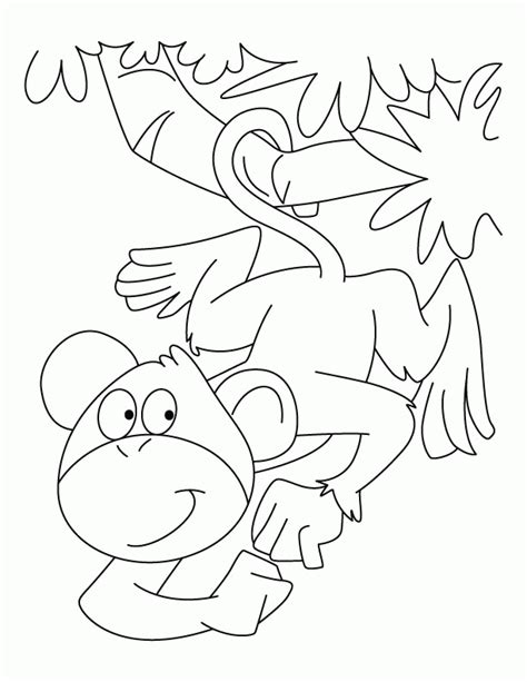 silly monkey coloring pages funny monkey coloring pages az coloring pages