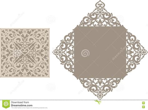 Laser Cut Wedding Invitations Templates