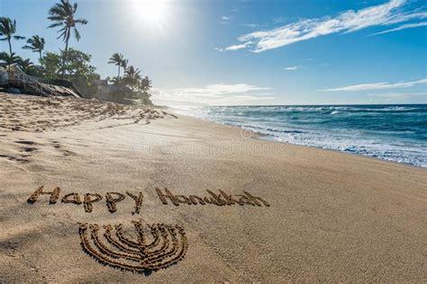happy hanukkah stock image image  holiday macro type