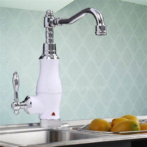 overstock faucets kitchen overstock electric white painting single handle faucet kitchen