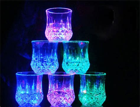 water activated led light buy water activated led light up flashing rocks glass in
