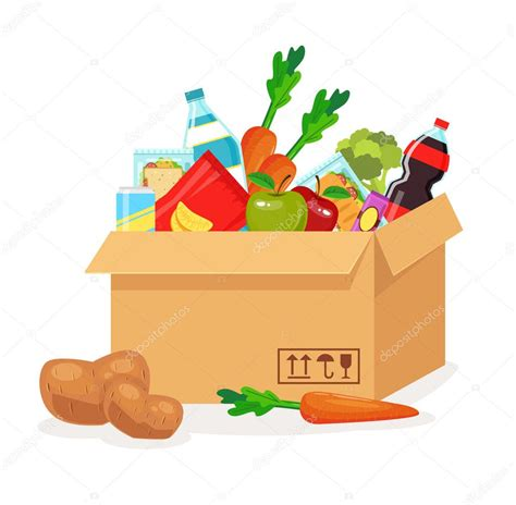 dibujo alimentos im 225 genes de dibujo de alimentos alimentos en caja