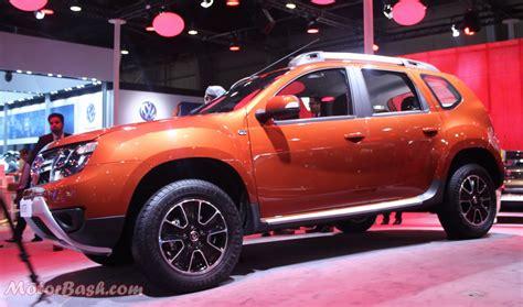renault orange renault unveils duster facelift with 32 changes gets amt