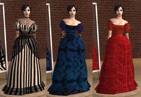 ball gown sims 4 mod the sims more recolours of sussis 1860 ball gown mesh