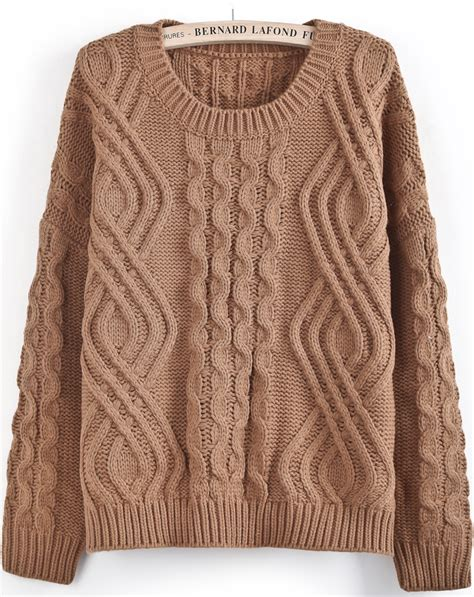pattern cable knit sweater 301 moved permanently