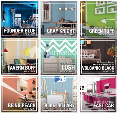 nippon paint luncurkan tren warna terbaru rumah dan gaya hidup rumah