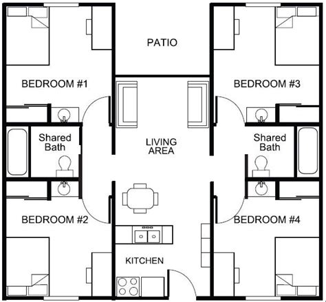 student housing floor plans student housing floor plans google search student