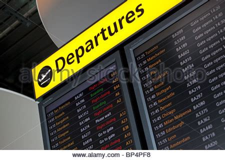 uk airport arrivals and departures information websites flight board at heathrow airport uk stock photo 30004105