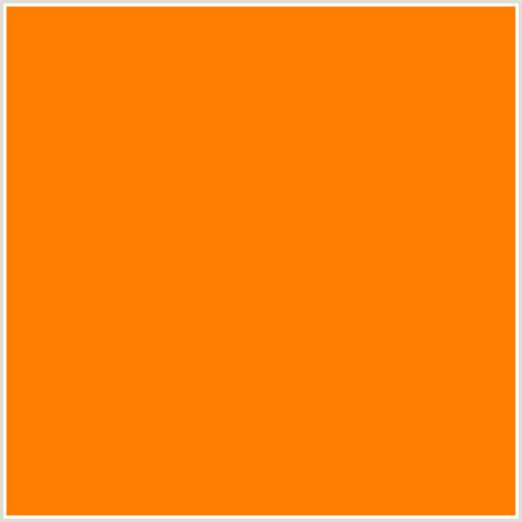 orange html color hex ff7d00 hex color rgb 255 125 0 flush orange