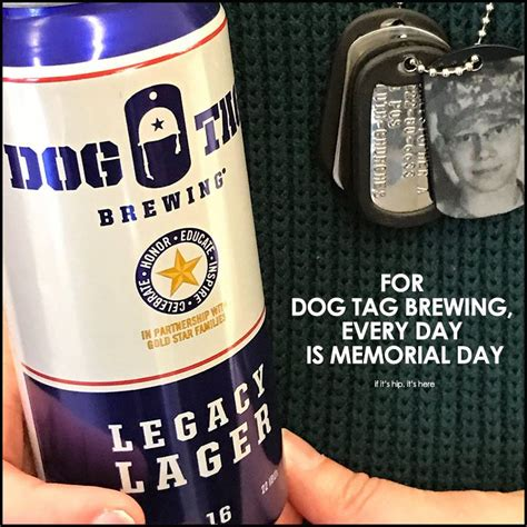 tag brewing tag brewing legacy lager cans are dedicated to fallen heroes