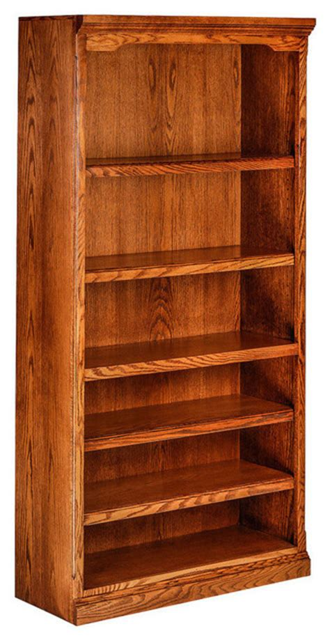 traditional oak bookcase honey oak traditional