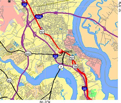 zip code map charleston sc charleston zip code map zip code map