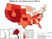 list of killings by enforcement officers in the united