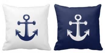 white and navy blue nautical throw pillows whyrll