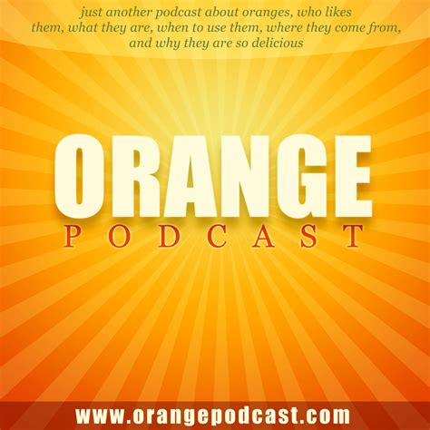 orange podcast orange podcast podcast designs
