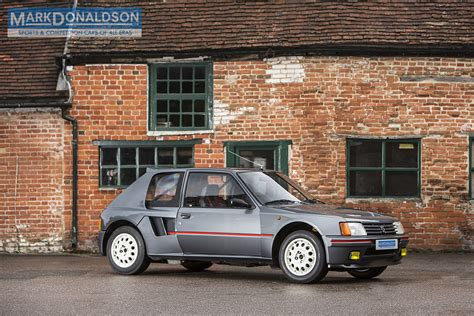 peugeot 205 t16 live your group b fantasies with this 1984 peugeot 205 t16