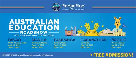 Of Sydney Mba Requirements by Australian Education Roadshow In The Philippines